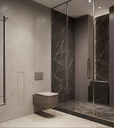 Two bathroom design ideas Bathroom Design Luxury, Bathroom Design Small, Bath Design, Bathroom Ideas, Toilet, Bathtub, House Design, Flooring, Interior Design