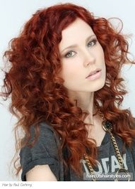 red curly hair - love it!