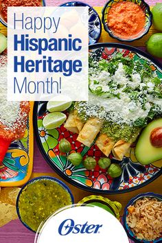 It's Hispanic Heritage Month and we're happy to give you lots of very deliciosas recetas for you to try with your family! #HispanicHeritageMonth