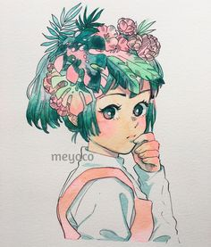 """16k Likes, 31 Comments - meyoコ (@meyoco) on Instagram: """" (art tools info: @pearlescentpink)"""""""