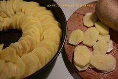 ΜΑΓΕΙΡΙΚΗ ΚΑΙ ΣΥΝΤΑΓΕΣ: Πατάτες στο φούρνο -το κάτι άλλο σε γεύση !!! Greek Recipes, Food Videos, Diy And Crafts, Pie, Potatoes, Meals, Cooking, Desserts, Foods
