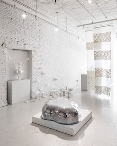 Colony's Conceptual Exhibition – Lightness: the full spectrum - Design Milk - Art Pastel Room, Pastel Decor, Interior Styling, Interior Decorating, Interior Design, Home Furniture, Furniture Design, Milk Art, Scandinavian Furniture