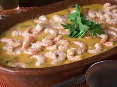 Uma deliciosa receita de bobó de camarão indicada pela Chef Mara Simon, restaurante Tordesilhas. Receita originária do Brasil