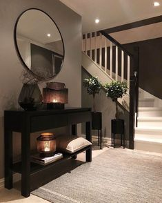 TGIF, Happy Friday Here's a little hallway inspiration by.- ✨ TGIF, Happy Friday✨ Here's a little hallway inspiration by ✨ TGIF, Happy Friday✨ Here's a little hallway inspiration by - Home Design Decor, Interior Design Living Room, Living Room Designs, House Design, Design Ideas, Hallway Inspiration, Home Decor Inspiration, Decor Ideas, Decorating Ideas