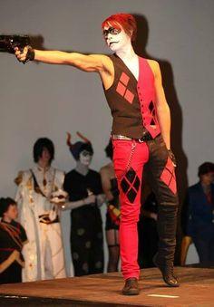 Me as Male #Harley #Quinn