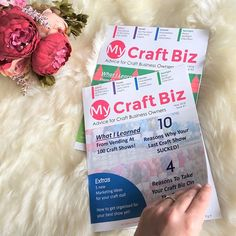 6 Likes, 2 Comments - Sara Millis Small Business Marketing, Business Goals, Business Tips, Craft Business, Creative Business, What To Sell Online, Production Planning, Small Business Resources, Craft Stalls