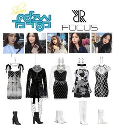 Discover outfit ideas for made with the shoplook outfit maker. How to wear ideas for Donna Earring and Crystal Embellished Velvet Mini Kpop Fashion Outfits, Stage Outfits, Dance Outfits, Womens Fashion, Fashion Trends, Comeback Stage, Outfit Maker, Outfit Sets, Aesthetic Clothes