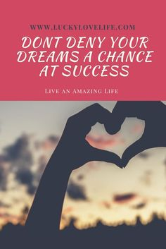 Dreams. You should have an Amazing life. You deserve miracles and moments that make you happy every single day. Click through to learn how you can put yourself back on track to loving life to the fullest!