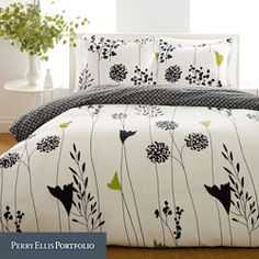 Asian Flower Mini Comforter Set 92