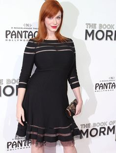 Mad Men actress Christina Hendricks became a poster girl for curvy women everywhere after complaining that fashion designers wouldn't lend her clothes. 'This is the way I'm built and I feel beautiful', she said in a recent interview. Amen to that!