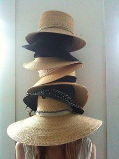 ❧ Chapeaux de paille ❧
