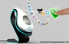Gadgets of the Future: Black Hole Cell Phone Designed for 2020 high-tech-always-on-the-edge Futuristic Technology, Cool Technology, Digital Technology, Technology Gadgets, Business Technology, Latest Technology, High Tech Gadgets, Gadgets And Gizmos, Cool Gadgets
