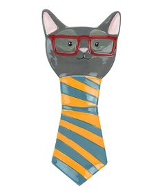 Take a look at this Smarty Gray Cat Spoon Rest today!