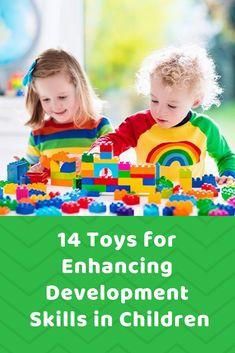 14 Toys for Enhancing Developmeng in Children | hotandsourblog.com