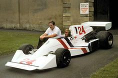 Lord Hesketh & James Hunt, and the Hesketh 308C of 1975