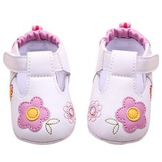 Mosunx Infant Baby Girl Soft Crib Shoes Toddler Prewalker Walking Shoes 12 Pink ** Learn more by visiting the image link. (This is an affiliate link) #BabyGirlShoes