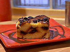Look at this recipe - Challah bread pudding with chocolate and sultanas - and other tasty dishes on Food Network. Challah Bread Pudding, Challah Bread Recipes, Bread Puddings, Pudding Desserts, Dessert Recipes, Raisin Recipes, Jewish Recipes, Israeli Recipes, Desert Recipes