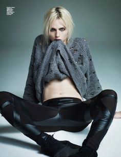 "Andrej Pejic, transgendered fashion model--"" ""In this society, if a man is called a woman, that's the biggest insult he could get."" He arches his eyebrows skeptically and asks, ""Is that because women are considered something less?"" Later, he tells me, ""I know people want me to sort of defend myself, to sit here and be like, 'I'm a boy, but I wear makeup sometimes.' But, you know, to me, it doesn't really matter. I don't really have that sort of strong gender identity—I identify as what I am…"