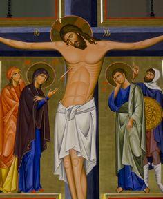 ikona krzyża w dominikańskim kościele św. Jacka w Rzeszowie  #krzyż #cross #dominikanie #jezus #op #ikona #modlitwa