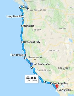 The Ultimate Pacific Coast Highway Road Trip Guide Planning a Pacific Coast Highway road trip? Here are tips for your PCH road trip, including Pacific Coast Highway itinraries and maps. West Coast Usa, West Coast Trail, West Coast Road Trip, West Coast Living, Pacific Coast Highway, Highway Road, Highway 1 Roadtrip, Road Trip Map, Oregon Road Trip