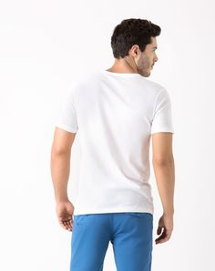 Imagen para Camiseta para Hombre Henley Gris Mediode  Gef