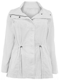 White Lightweight Jacket