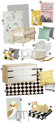 Baby Girl Nursery Inspiration, Take 2