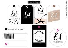 Etiquettes cadeaux Eid Diy Eid Gifts, Diy Crafts For Gifts, Eid Crafts, Ramadan Crafts, Eid Boxes, Fete Emma, Eid Mubarak Gift, Eid Stickers, Iphone Wallpaper Quotes Love