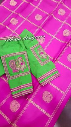 Blouse and saree design match
