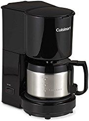 Christmas deals week Cuisinart 4-Cup Coffee Maker with Stainless Steel Carafe in Black