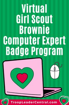 Earn the Girl Scout Brownie Computer Expert Badge online for free. Virtually earn Girl Scout badges at home with this online program. Girl Scout Brownie Badges, Junior Girl Scout Badges, Girl Scout Juniors, Brownie Girl Scouts, Girl Scout Swap, Daisy Girl Scouts, Girl Scout Leader, Girl Scout Troop, Girl Scout Daisy Activities
