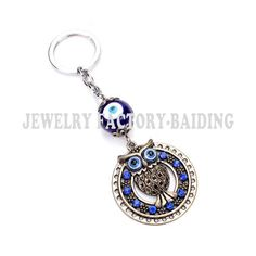 What you get is what you see  Only $ 3.60 &FREE Shipping Worldwide  Get it here --->http://www.honestgem.com/product/blue-crystal-owl-keychain/ //   #honestgem #jewelry