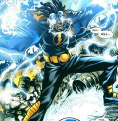 Who doesn't love Static, another DC comics character created by the late Dwayne McDuffie.