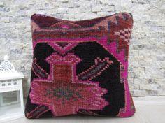 handmade carpet pillow 16x16 decorative carpet pillow sofa pillow bohemian pillow 16x16 pink carpet pillow natural pillow throw pillow
