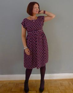 Marguerite Dress Sewing Pattern Plush Addict Sew Over It