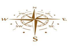 Grunge vector compass set - image | Adobe Stock