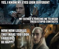Fabulous legolas and thranduil