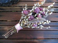 pussy willows bridal bouquet - Google Search