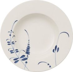 Villeroy & Boch Old Luxembourg Brindille Rim Soup Bowl Porcelain Jewelry, Fine Porcelain, Porcelain Ceramics, Ceramic Pottery, Ceramics Tile, Painted Porcelain, Painted Ceramics, Porcelain Skin, Porcelain Doll