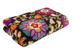 Throw Blanket | Vera Bradley - just got this in suzanni, and love it. so obsessed.