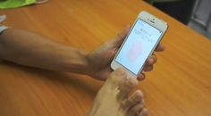 iPhone 5S fingerprint ID seems to work with other body parts, too