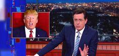 Helen Mirren smooches Stephen Colbert on air #StephenColbert... #StephenColbert: Helen Mirren smooches Stephen Colbert on… #StephenColbert