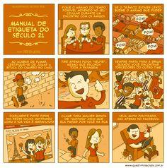 Quadrinhos Ácidos: #69 - Manual de etiqueta do século 21