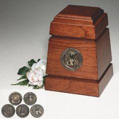 Urns Northwest  - Monticello Military Cremation Urn, $599.00 (http://urnsnw.com/monticello-military-cremation-urn/)