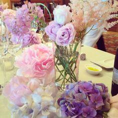 About Yoko Yamashiro - 山城葉子 Wedding Images, Wedding Ideas, Weeding, Color Themes, Wedding Table, Wedding Flowers, Table Decorations, Purple, Inspiration