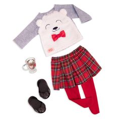 Ropa American Girl, American Girl Doll Sets, American Doll Clothes, American Girl Doll Pajamas, Our Generation Doll Accessories, Our Generation Doll Clothes, My Life Doll Accessories, Cozy Fashion, Winter Fashion Outfits