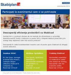 Participati la evenimentele Stabiplan Portal