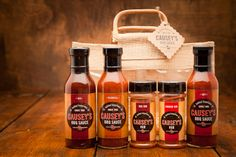 Causeys BBQ Sauce and Rub - prep food for grilling at camp!