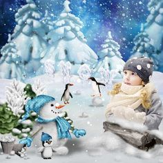 first snow by Bee Creations - Digishoptalk - The Hub of the Digital Scrapbooking Community