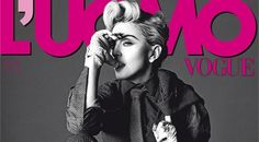 Madonna en couverture d'Uomo, Vogue Italie